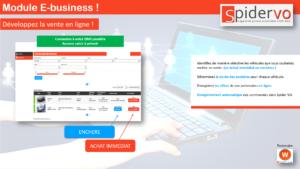 Nouveau Module E-business Spider VO