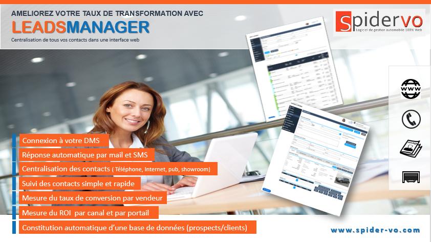 AMELIOREZ VOTRE TAUX DE TRANSFORMATION AVEC LEADS MANAGER 1