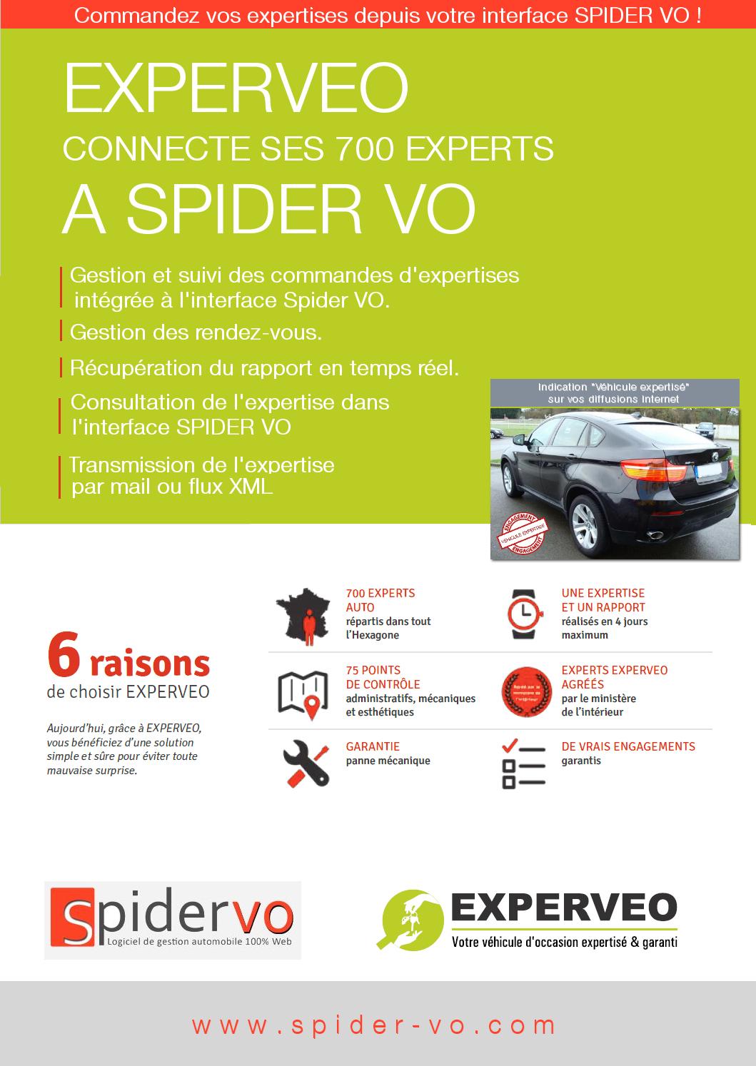 EXPERVEO connecte ses 700 experts à SPIDER VO ! 2