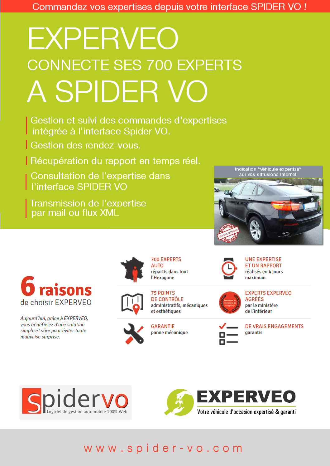 EXPERVEO connecte ses 700 experts à SPIDER VO ! 1