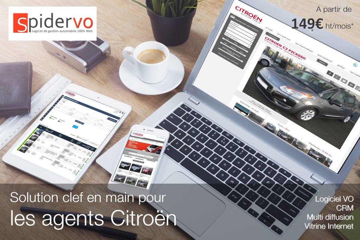 Solution clef en main pour les agents Citroën