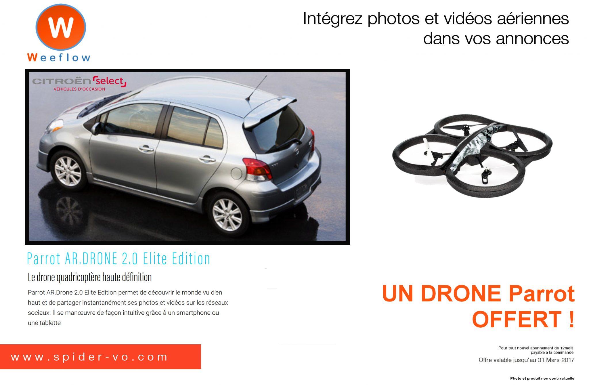 Intégrez photos et vidéos aériennes dans vos annonces !